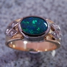 JewelCraft_Black Opal Ring