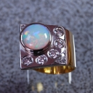 JewelCraft_Opal Two_Tone Ring