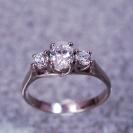 JewelCraft_Oval Three Set Diamond Ring