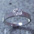 JewelCraft_Silver Diamond Ring