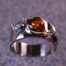 JewelCraft_Smoky Quartz Ring