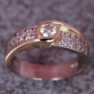 JewelCraft_Two Tone Diamond inset ring