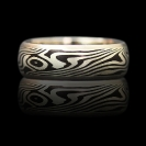 Mokume Gane_Ring- shaukdo and silver
